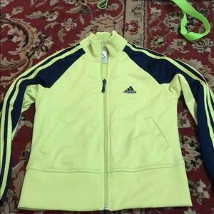 Adidas jacket light kids s (5-6)